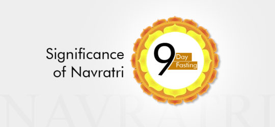 Significance of Navratri - 9 day fasting - Health and spiritual reasons