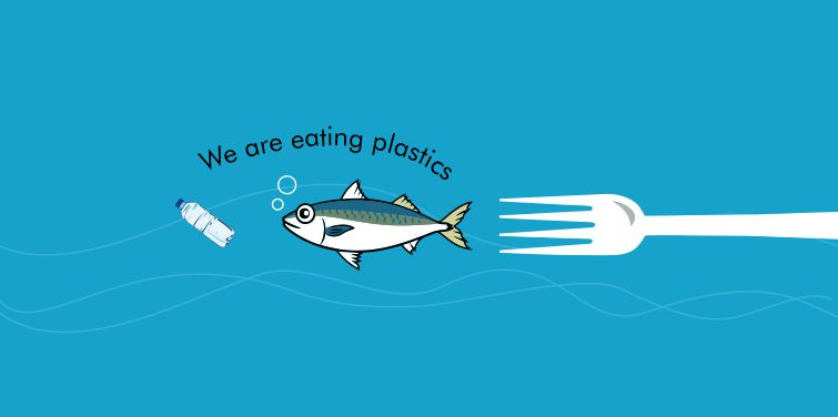 We are eating plastics